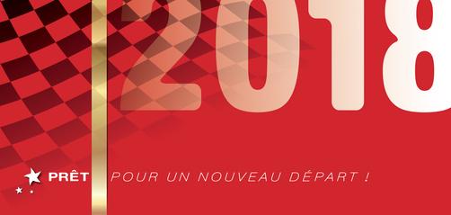 CARTE DE VOEUX NOUVEAU DÉPART 2018